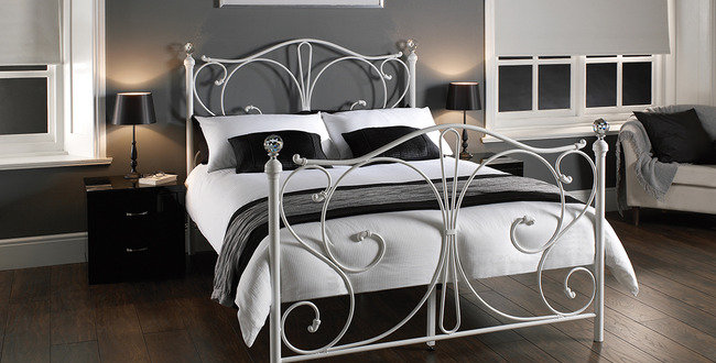 FLORENCE 4.6 DOUBLE BED WHITE