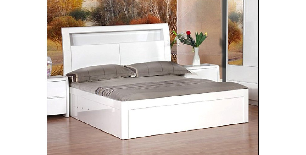 Madrid High Gloss Bed