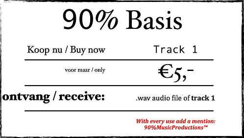 90% Basis - Track 1 (Mastered)