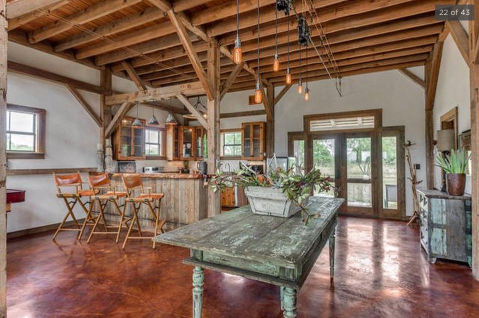 Harper House Barn Living Area