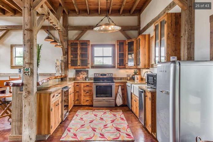 Barn Kitchen Pre-Legacy Ranch