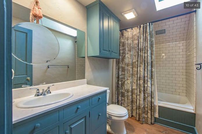 Saltbox Upstairs Bathroom Pre-Legacy Ranch