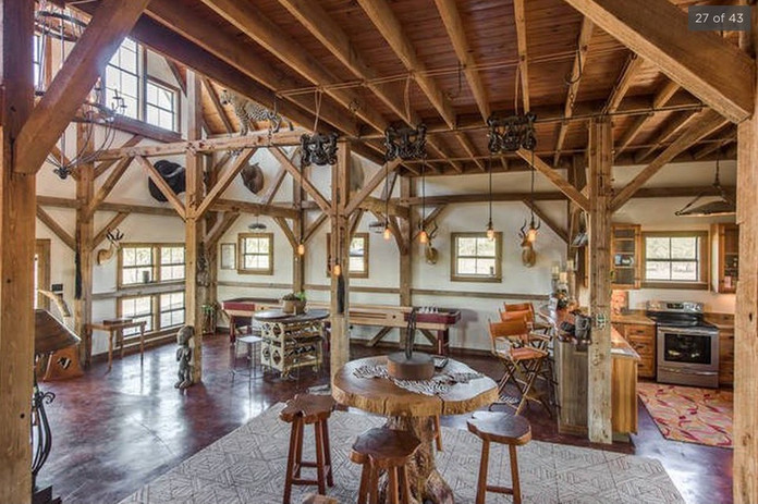 Barn Living Area Pre-Legacy Ranch