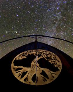 Chapel Door Stars