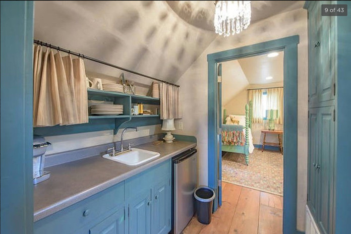 Saltbox Upstairs Kitchenette Pre-Legacy Ranch
