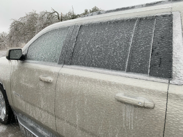 Icy Escape Vehicle