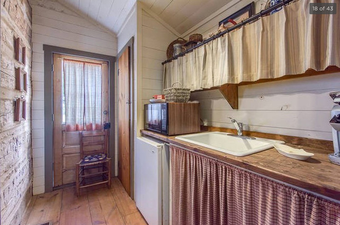 Log Cabin Kitchenette Pre-Legacy Ranch