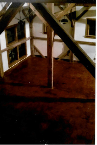 Barn Interior 2011