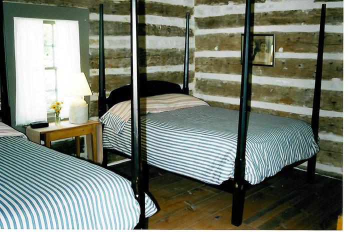 Right Bedroom of Log Cabin