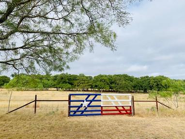 Texas Flag Gate