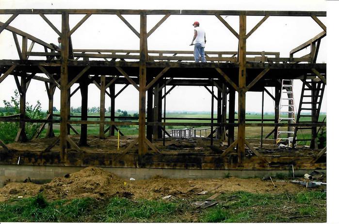 Barn During Teardown