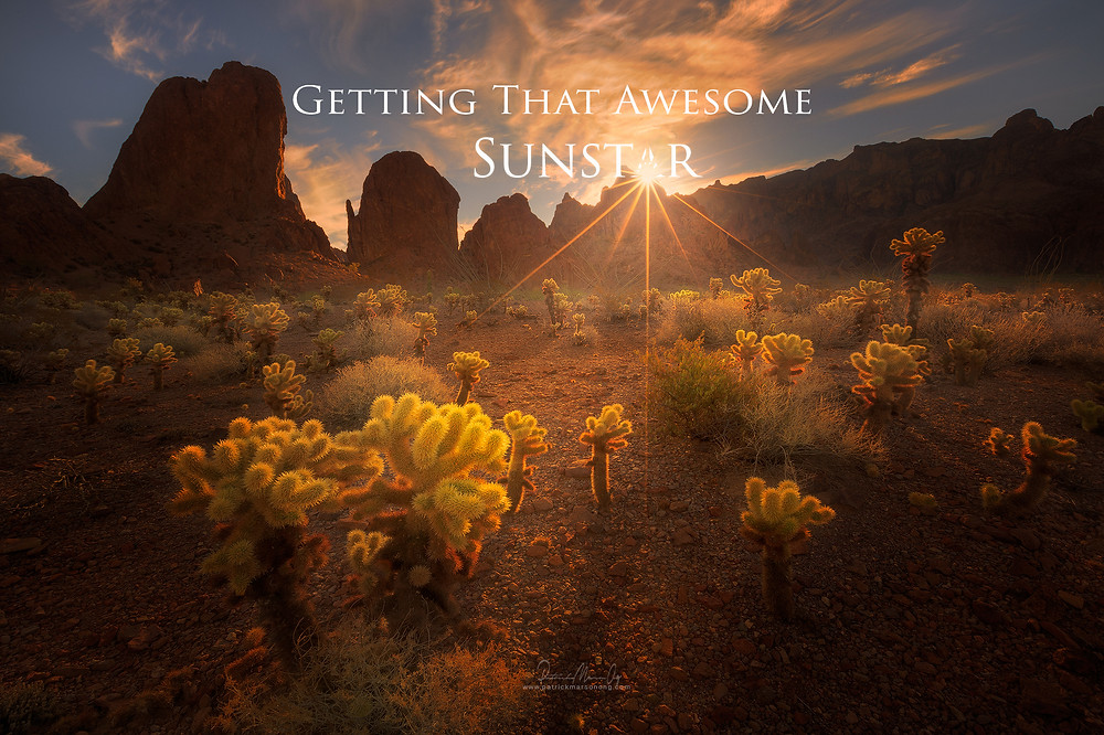 Getting that awesome sunstar