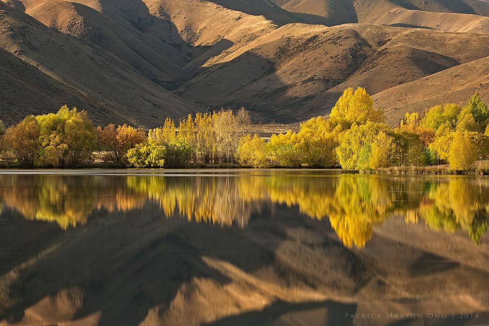 Autumn Relfections of Twizel