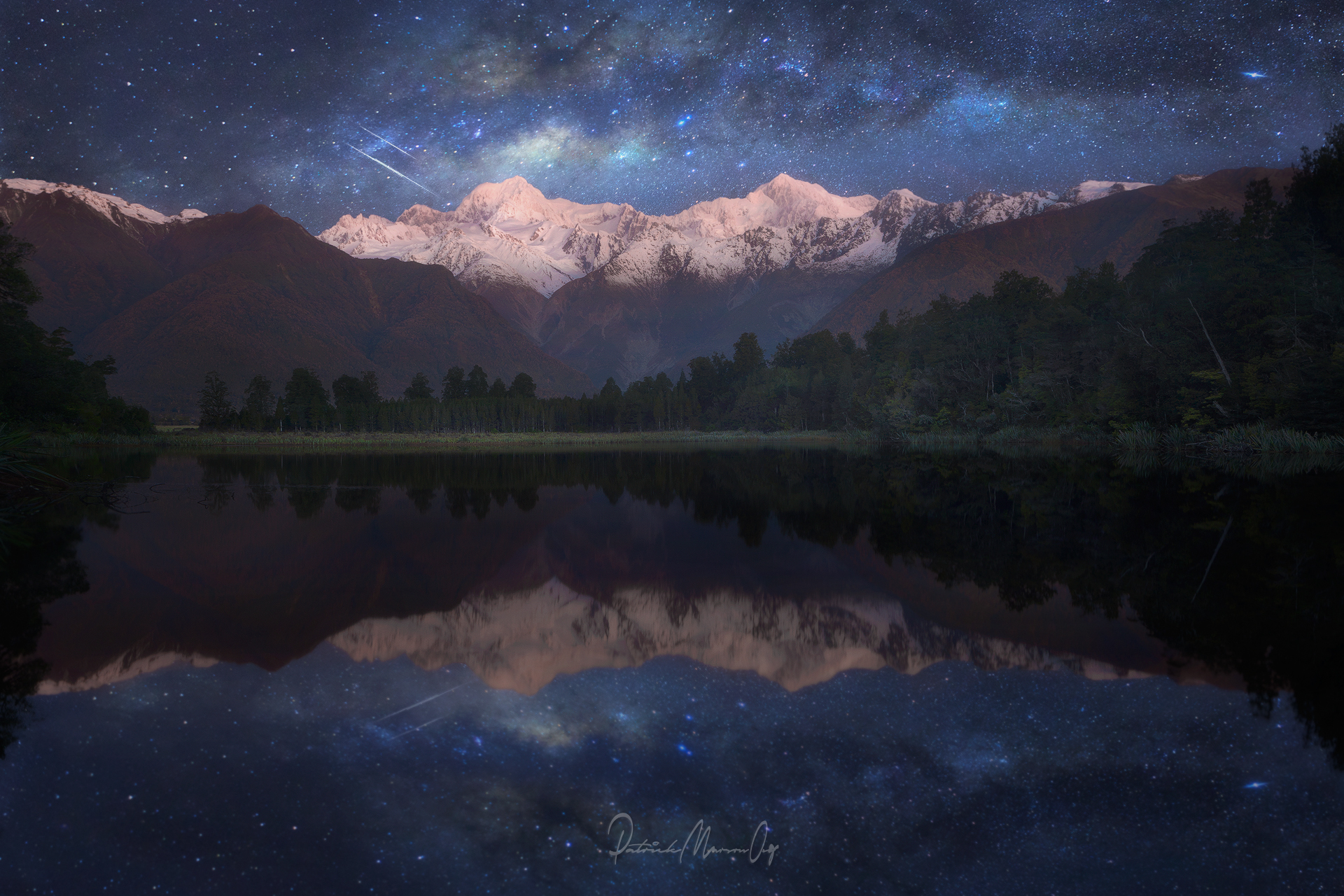Fantasy, Lake Matheson, New Zealand