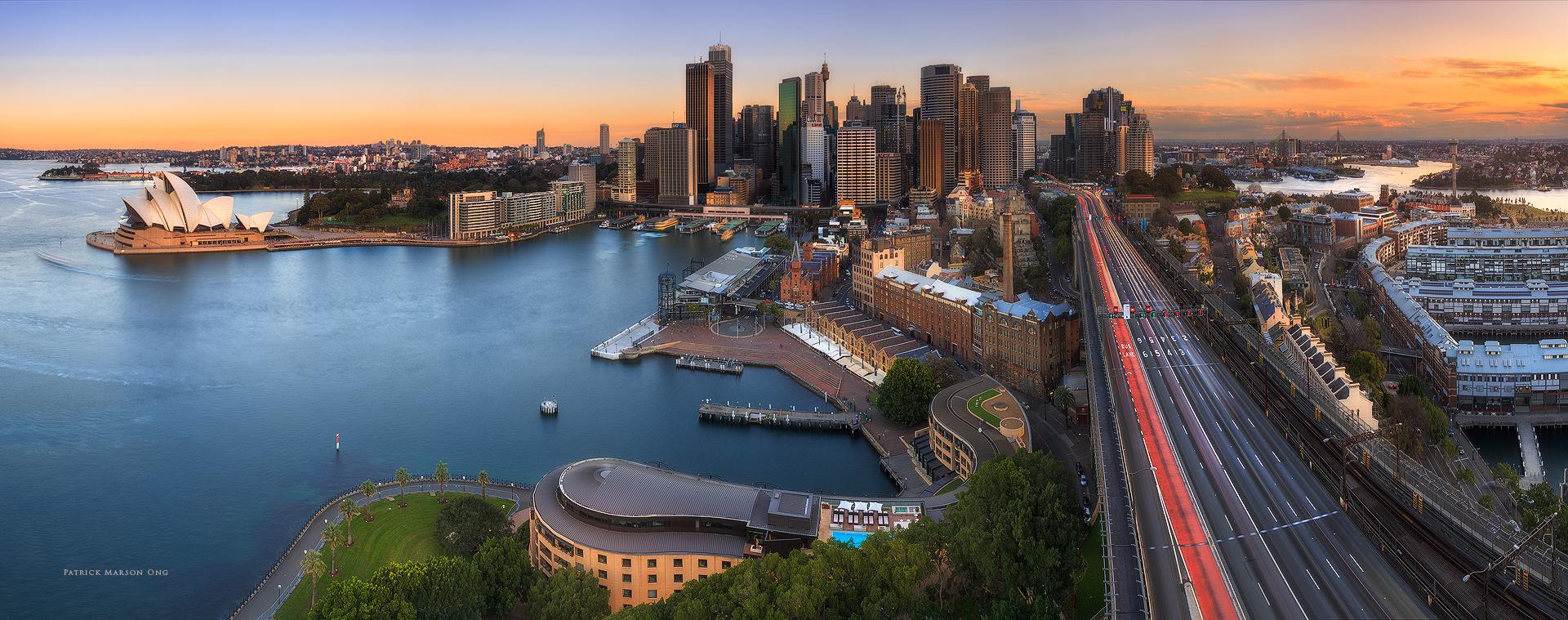 Sydney Skies Panorama