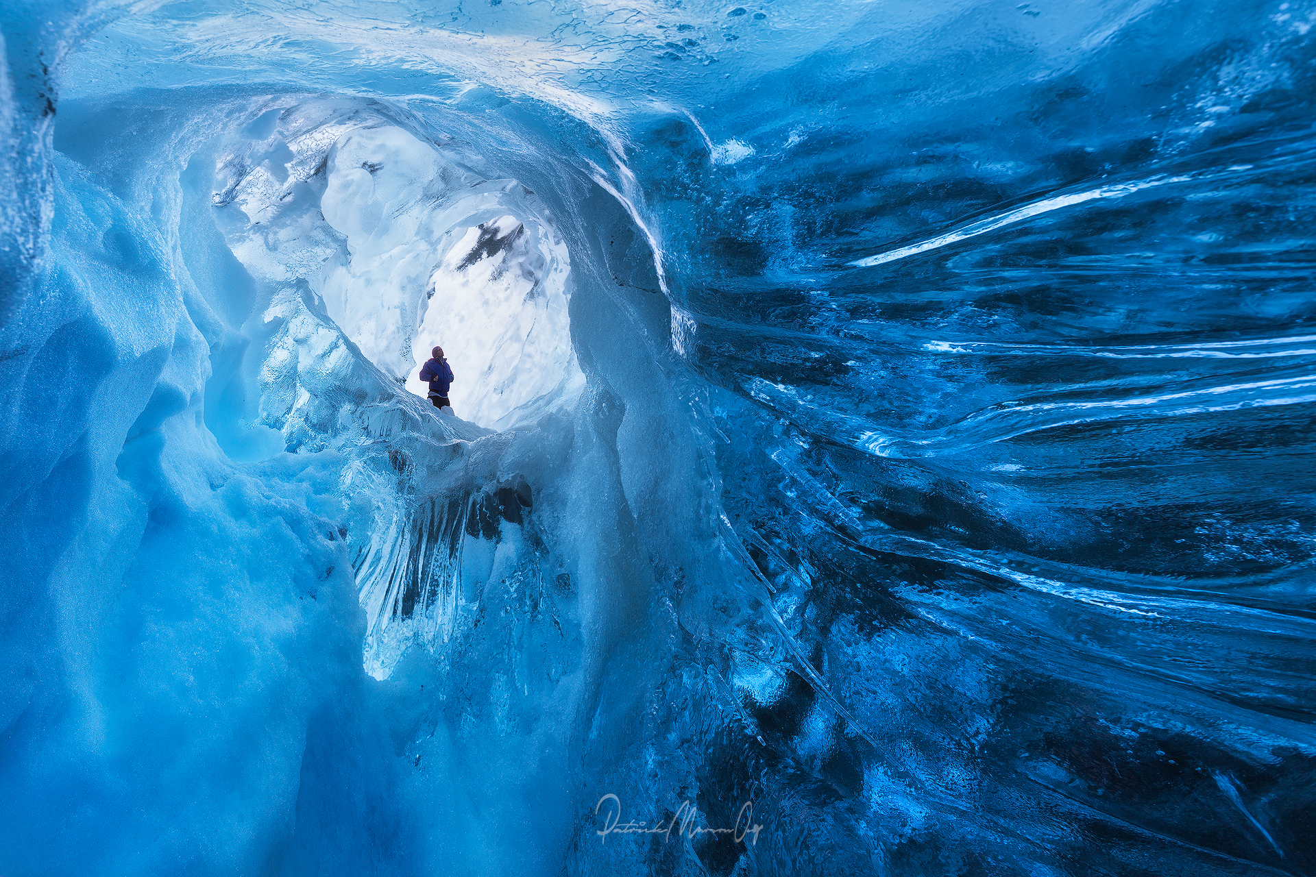 Ice Cave Selfie