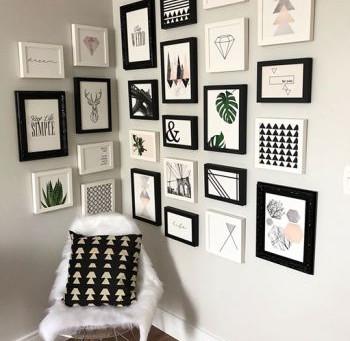 4 decorações de paredes para você se inspirar!