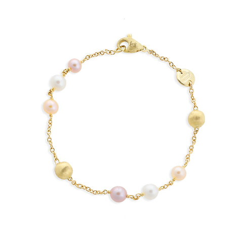Marco Bicego 18k Gold and Pearl Bracelet