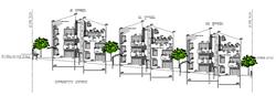 חזית דרומית - פרויקט שחר בגבעת הזית