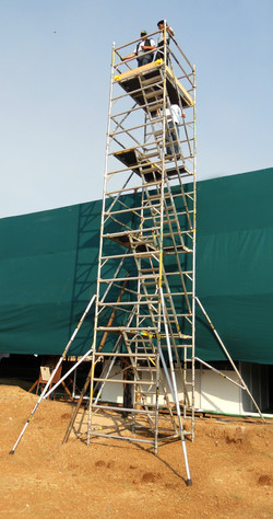 Kisan Agri Fare - Double Width BoSS Stairway Model, Working Height 10.4m View 2