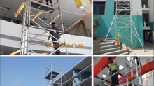 Youngman Scaffolds-work comfortably!