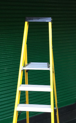 Folding Platform With 2ft Leaning Frame And Tool Tray