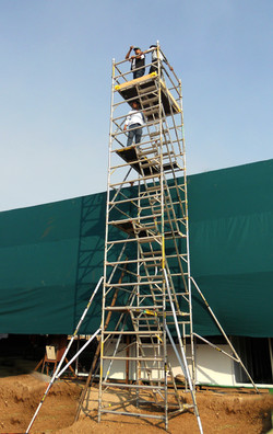Kisan Agri Fare - Double Width BoSS Stairway Model, Working Height 10.4m