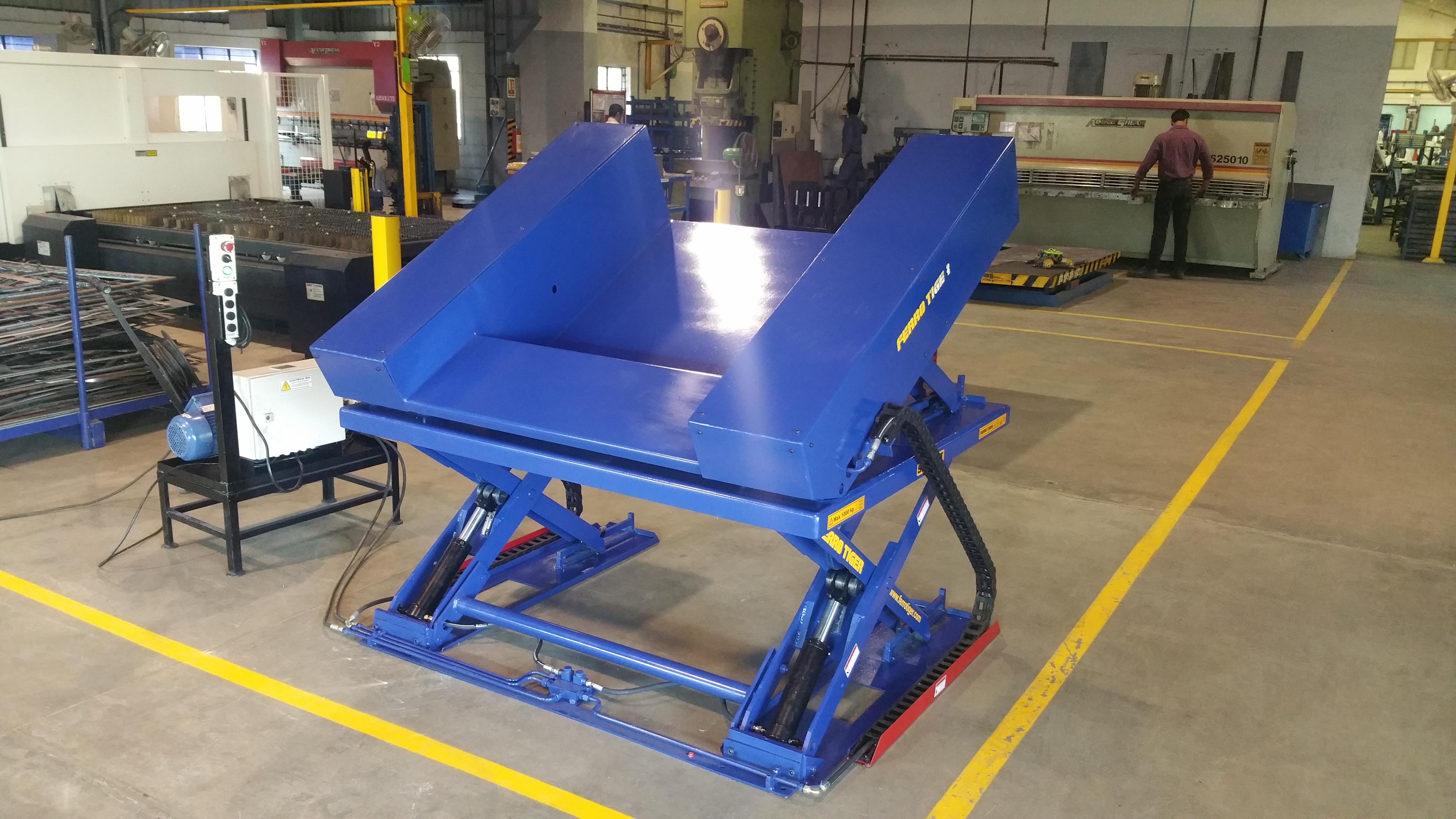 Hydraulic Material Handling