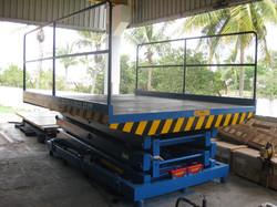 Hi Build 2T P3000x2500 6 Meters Height Flame Proof Goods Lift