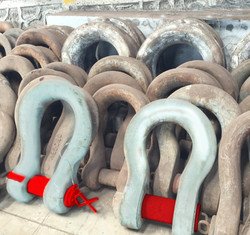 Stocking of Wide Body Shackles