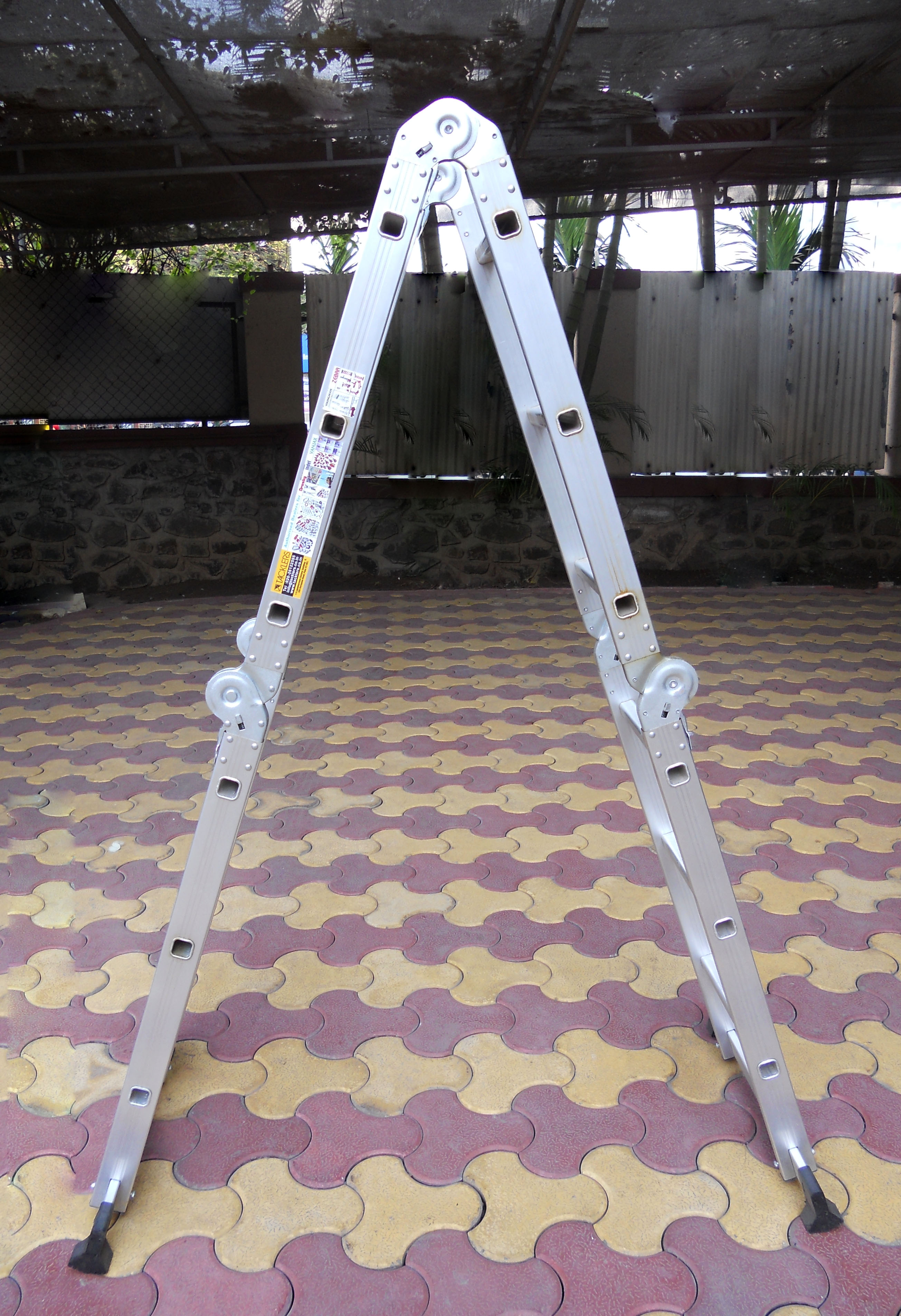 4 Part Ladder as a Step Ladder