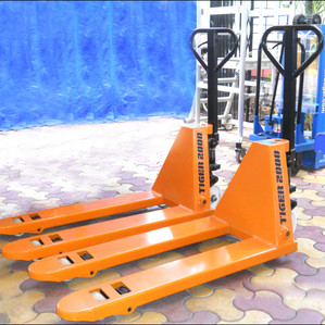 To Move Palletised Goods - Use TIGER Pallet Trucks