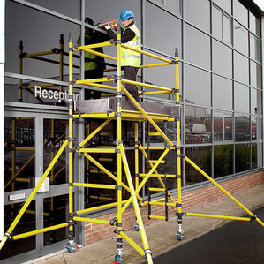 To work safely in Zone 1 environments - Use FRP Scaffolding