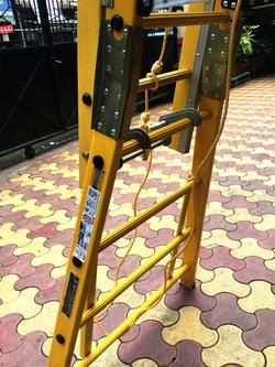 Pulley Locks, PP Rope And Side Steel Plate Reinforcement