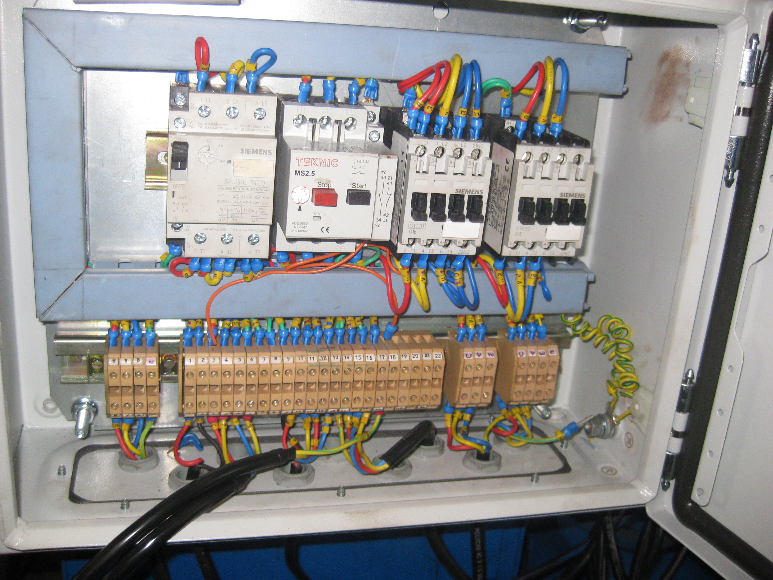 Dynamic Technologies Control Panel