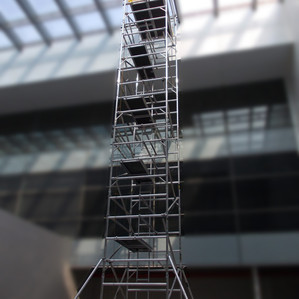 Youngman 'BoSS' Scaffolding - Working Comfortably at 47 Ft.