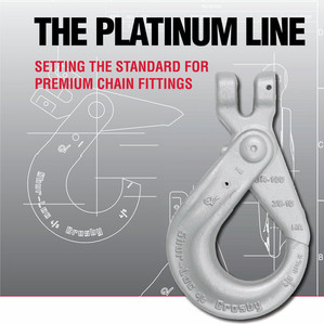"""Crosby Platinum Line - """"Setting The Standard For Premium Chain Fittings"""""""