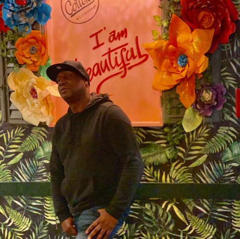 Father of Hip Hop Visits Cottons Notting Hill