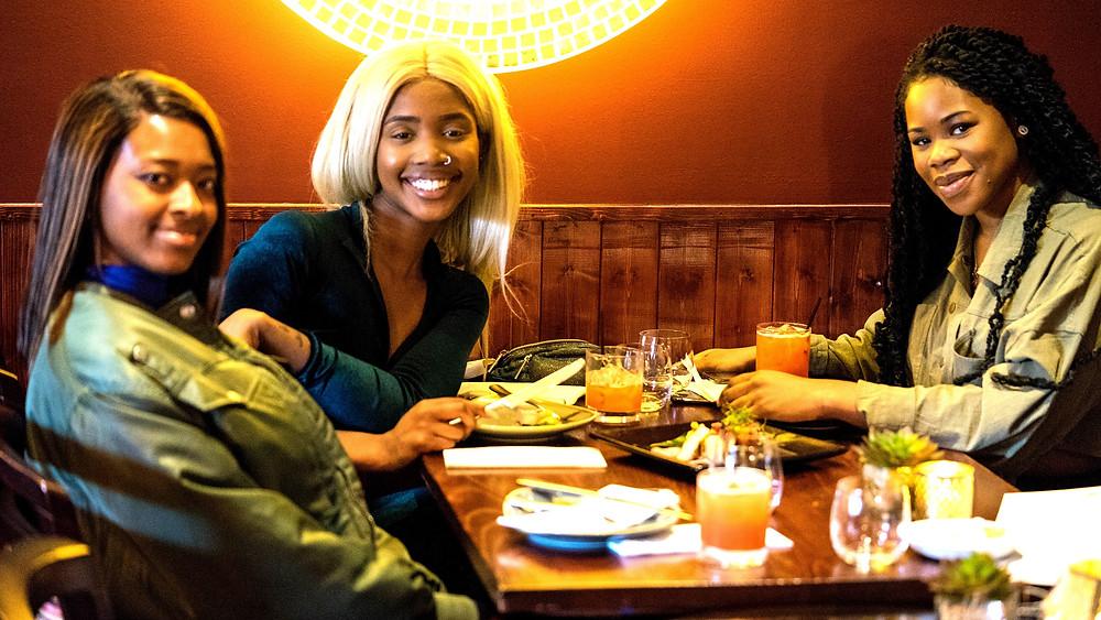 Group Enjoying Meal