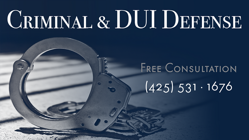 Bellevue Criminal Defense Lawyer | The Vargas Law Firm
