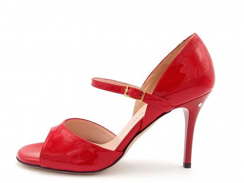 Madame Pivot GLORIA Red patent leather
