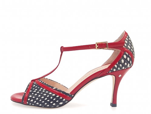Madame Pivot OLIVIA - Red/Reptile leather
