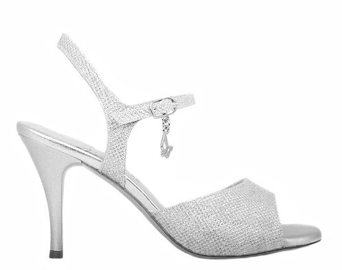 M44 SILVER FABRIC-NEW SEMI-SOFT SOLE- 7.5cm