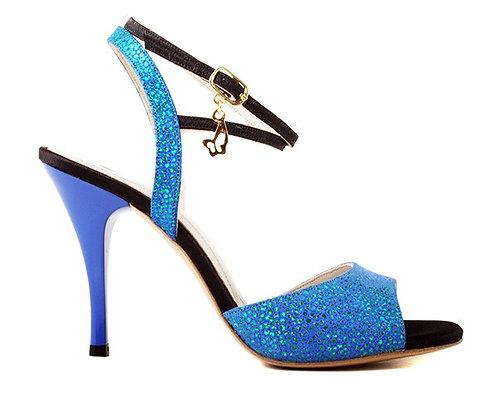 M38 BLUE & BLACK - SOFT SOLE - 8.5cm
