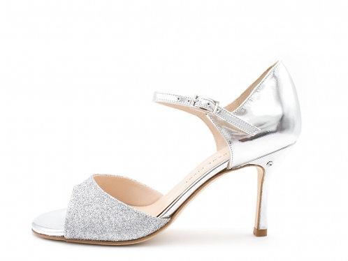 Madame Pivot DAISY Silver glitter
