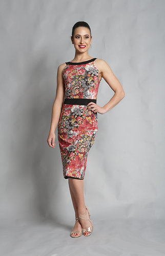 Tango Moment Milonga Dress Floral