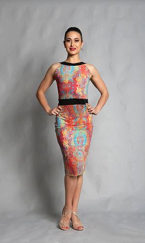 Tango Moment Milonga Dress Abstract