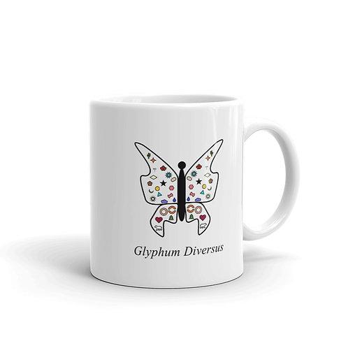 Datavizbutterfly - Glyphum Diversus - Mug
