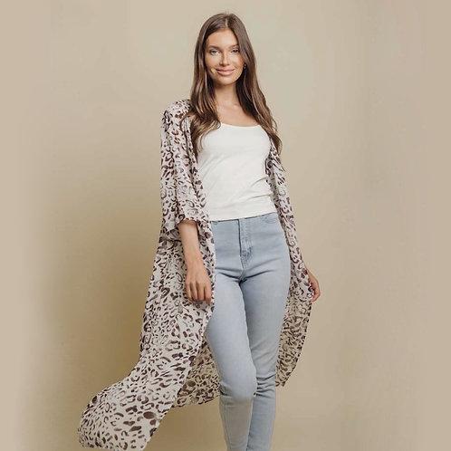 Cheetah Kimono