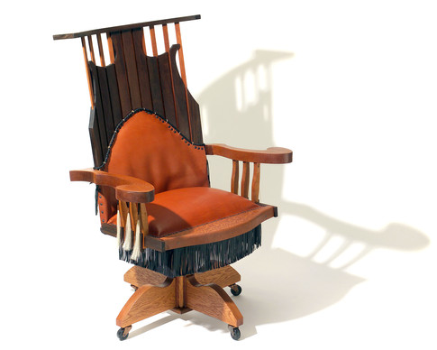 RUSTIC EXECUTIVE CHAIR